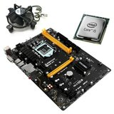 Kit Placa de Baza Refurbished Biostar TB250-BTC, Quad Core i5-6500T, Cooler